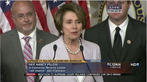 Dems' reaction to Same-Sex Marriage Ruling